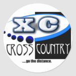 XC MOTTO - Go the Distance - CROSS COUNTRY Sticker