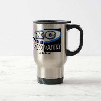 XC MOTTO - Go the Distance - CROSS COUNTRY Travel Mug