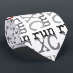 "XC Run - Cross Country Running Tie<br><div class=""desc"">Cross Country Runner</div>"