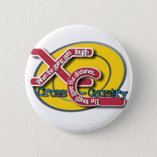 XC TOUGH MOTTO (CROSS COUNTRY) BUTTON