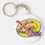 XC TOUGH MOTTO (CROSS COUNTRY) KEYCHAIN
