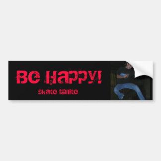 XDreams0622080076, Be Happy!, Skate Ignite Bumper Sticker