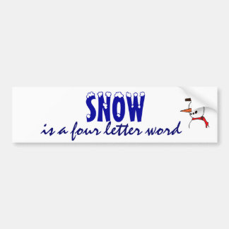 XE- Funny Snow Sticker
