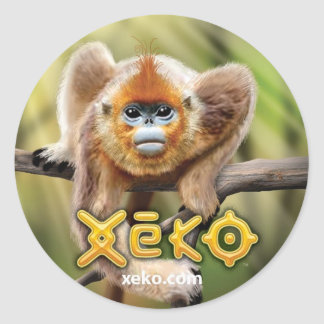 Xeko Snub-Nosed Monkey Stickers