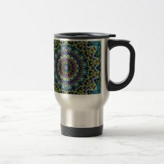 Xena Kaleidoscope Design Travel Mug