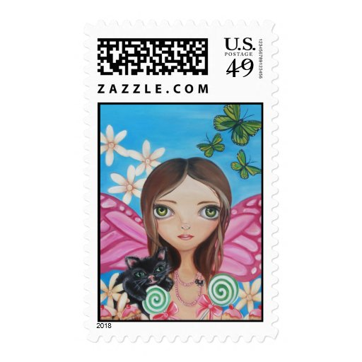 """""""Xenia Fairy"""" Postage Stamps"""