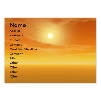 XENIA VS TITAN IN THE DESERT OF HYPERION LARGE BUSINESS CARDS (Pack OF 100)