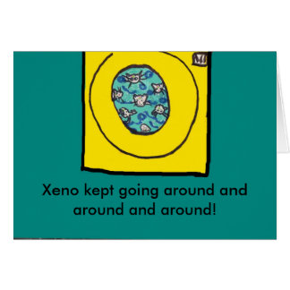 xeno pg 4040, Xeno kept going around and around... Card