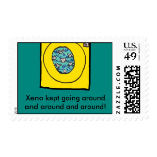 xeno pg 4040, Xeno kept going around and around... Postage