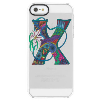"""Xenodochial X"" Monogrammed iPhone Case"