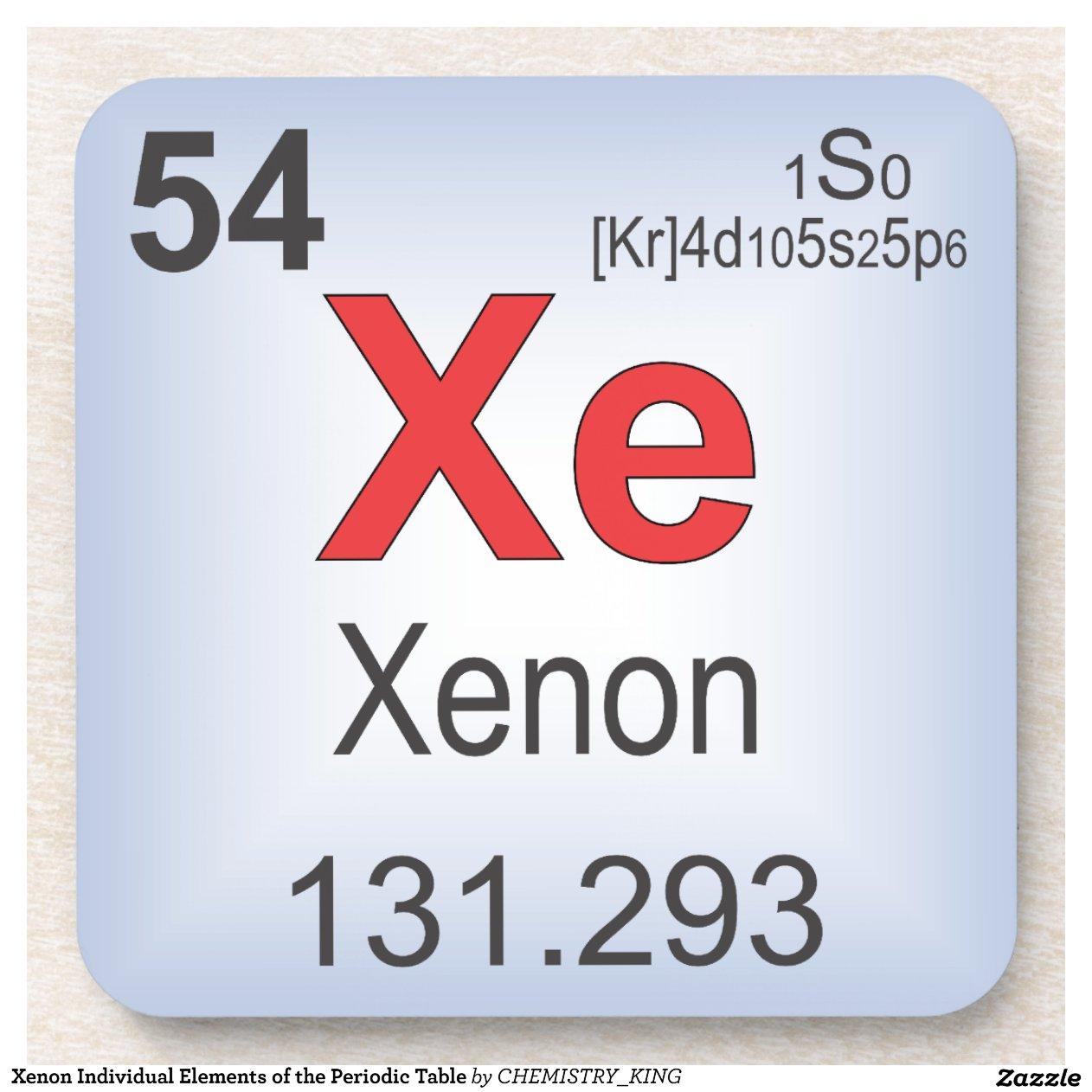 Xenon periodic table more information djekova of the periodic table xenon periodic table urtaz Images