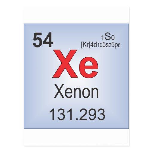 Xenon Periodic Table Gallery Xenon On The P...