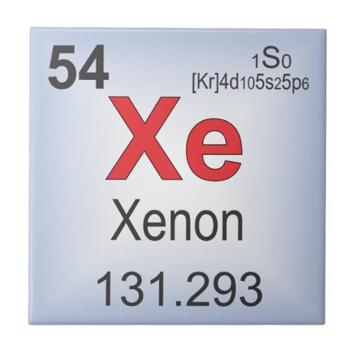 Xenon Periodic Table The gallery for -->...