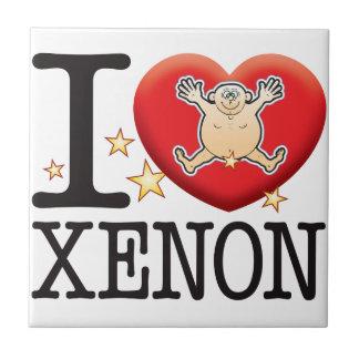 Xenon Love Man Small Square Tile