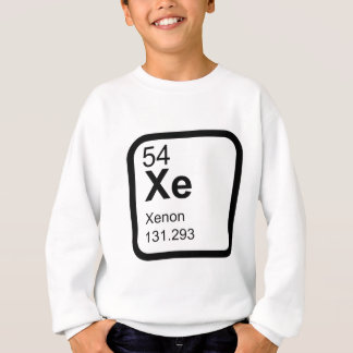 Xenon - Periodic Table science design Sweatshirt