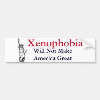 Xenophobia Bumper Sticker