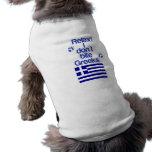 Xenophobic Greek Dog Dog T-shirt
