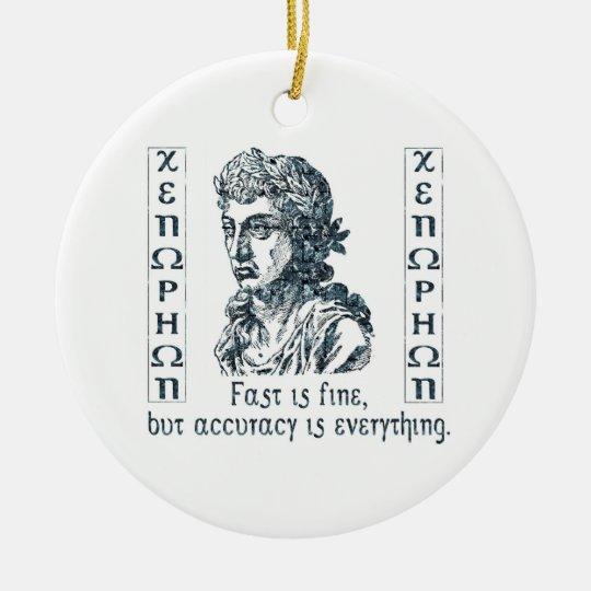 Xenophon Ornament