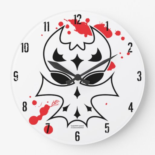 XenoSkull Reloj Redondo Grande