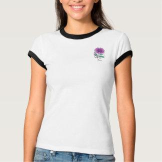Xeranthemum Flower Monogram Shirts