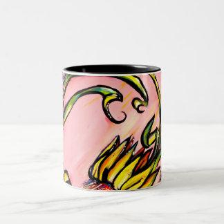Xeranthemum Two-Tone Coffee Mug