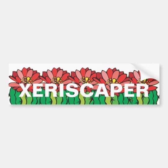 Xeriscaping Bumper Sticker