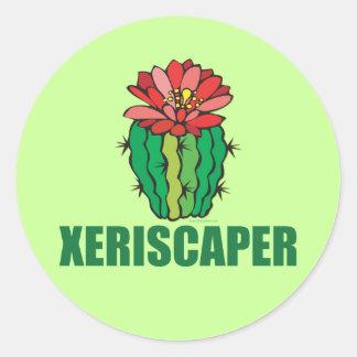 Xeriscaping Classic Round Sticker
