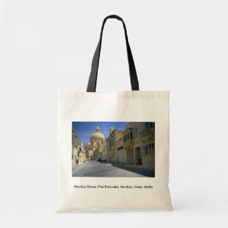 Xewkija Dome (The Rotunda), Xewkija, Gozo, Malta Canvas Bag