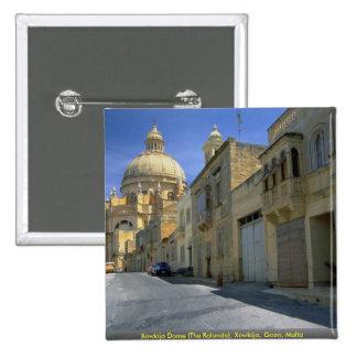 Xewkija Dome (The Rotunda), Xewkija, Gozo, Malta Button