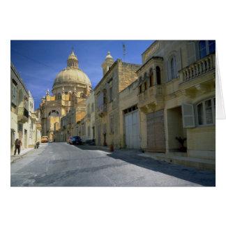 Xewkija Dome (The Rotunda), Xewkija, Gozo, Malta Greeting Cards