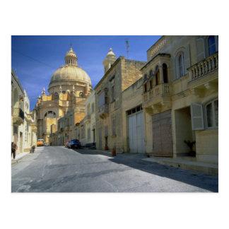 Xewkija Dome (The Rotunda), Xewkija, Gozo, Malta Postcard