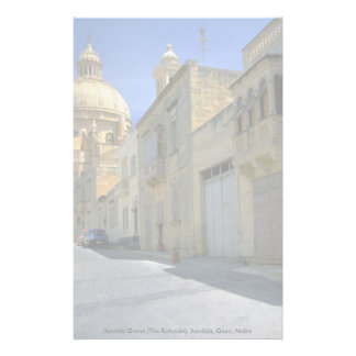 Xewkija Dome (The Rotunda), Xewkija, Gozo, Malta Stationery Paper
