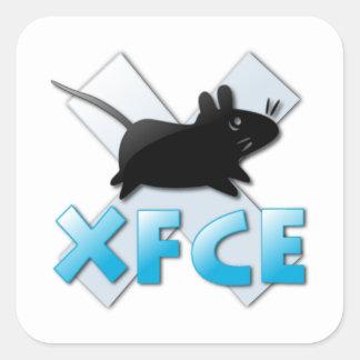 XFCE NS 1 CALCOMANÍA CUADRADA
