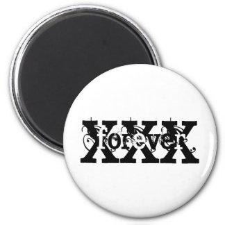 XFOREVERX FRIDGE MAGNET