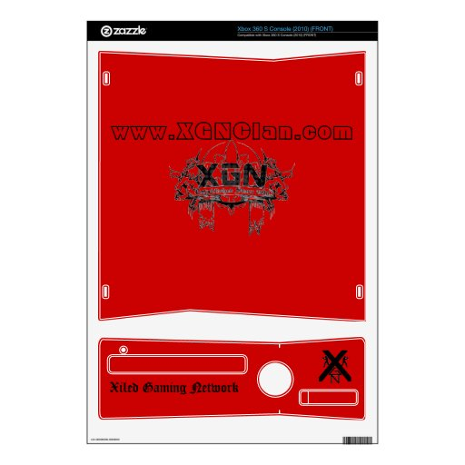 XGN Xbox Skin Decal For Xbox 360 S