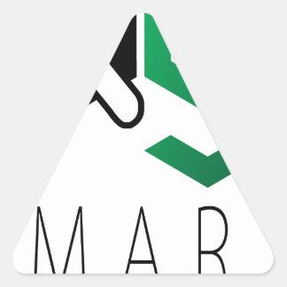 Xgsmart Calcomanías Trianguladas Personalizadas