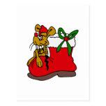 Xhristmas Mouse Postcard