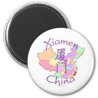 Xiamen China Imán Redondo 5 Cm