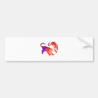 Xian China 2002  Ghost Tigers Hot & Cold Transp Th Bumper Sticker