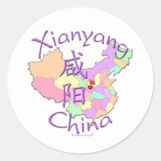 Xianyang China Round Stickers