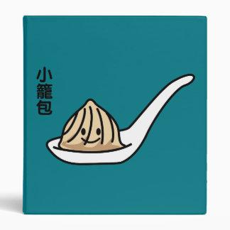 Xiaolongbao Chinese Soup Dumpling Dim Sum Bun 3 Ring Binder
