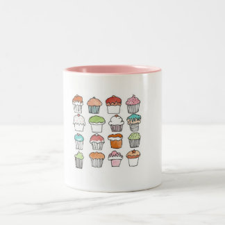 Xícara Cup cakes Canecas