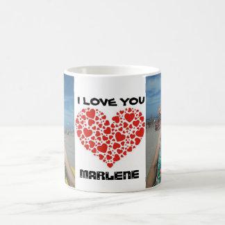 xicara I love you Coffee Mug