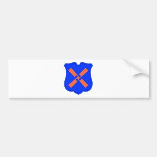 XII Corps Car Bumper Sticker