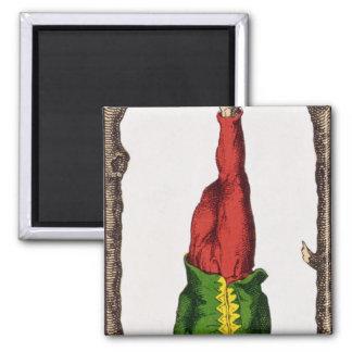 XII The Hanged Man, tarot card Magnet