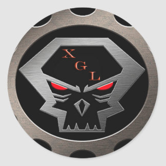 Xiled Gaming Legion Gear Classic Round Sticker