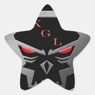 Xiled Gaming Legion Gear Star Sticker