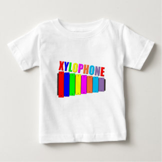 xilófono del arco iris tee shirt