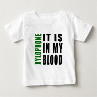 Xilófono está en mi sangre tshirt
