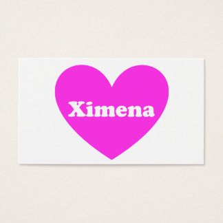 Ximena Business Card